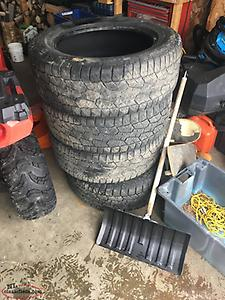 4 Hankook Dynapro tires 275/55 R20