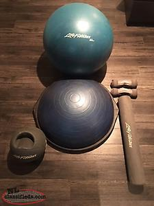 Life Fitness exercise set