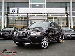 2014 BMW X3 $148 B/W Plus Tax