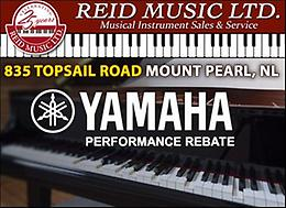 For all your musical needs, come and shop at Reid's!