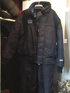Men's 2 piece snowsuit