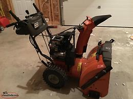 For sale husqvarna snowblower