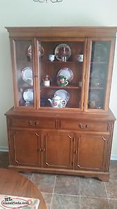 Antique China Cabinet