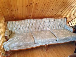 Arm chairs. couch and love-seat