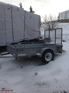 2009 KARGO MAX 5ft x 8ft. like new condition TRADE for bigger trailer