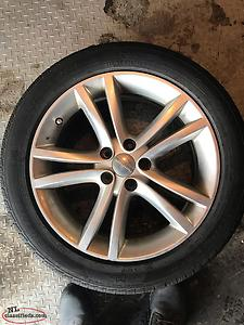 "Set Of 18"" Rims And Tires"