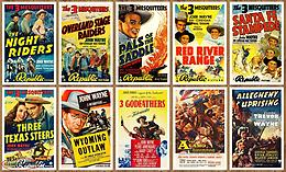 Collection of 75 JOHN WAYNE Western Movie Posters