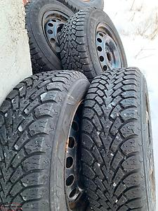 195-15 Tires and Rims x 4
