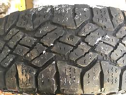 4 Goodyear Wrangler Winter Tires