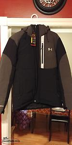 mens under armour winter jacket. brand new .