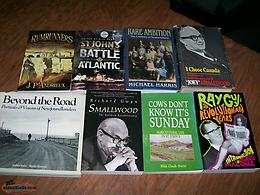 7 Newfoundland Books for $30, excellent condition