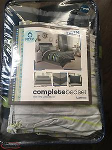 6 Piece Twin Bed Set