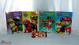 Paw Patrol Books Figures lot