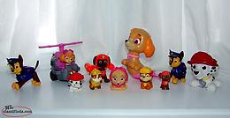 Paw Patrol Mixed Figures Lot