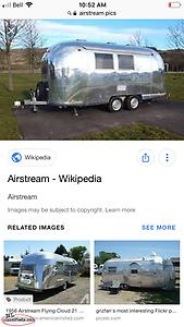 WANTED Airstream camper!!