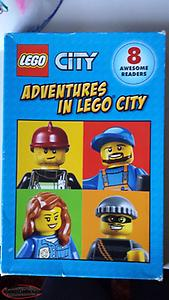 ADVENTURES IN LEGO CITY BOOKSET