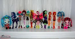 Monster High Dolls. Nice condition