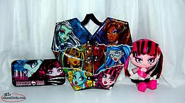 Monster High Storage Case, Pencil Case, Plush Doll