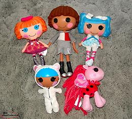 Lalaloopsy Dolls / Pony Lot