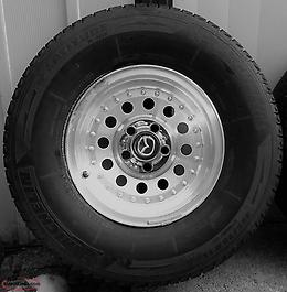 "FORD OEM 15"" ALLOY WHEELS w/ Tires"