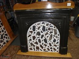 old cast iron fireplace from st. john's