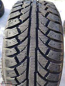 Two used 215 50 17 winter tires