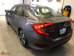 2016 HONDA CIVIC EX-T (TURBO) SEDAN.