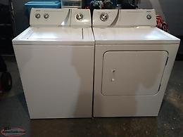 Admiral Washer and Dryer