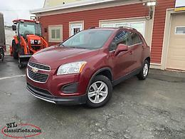 2014 CHEVROLET TRAX LT ALL WEHEL DRIVE LOW K LOW PAYMENT!