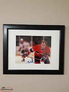 Toronto Maple Leafs Montreal Canadiens autograph photo Tavares Clark hockey