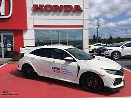 "One Remaining!! 2018 Civic Type ""R"" $3000.00 OFF"