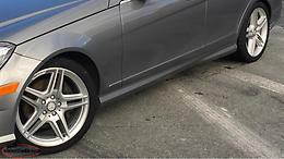 18 Inch AMG Mercedes Rims And Tires