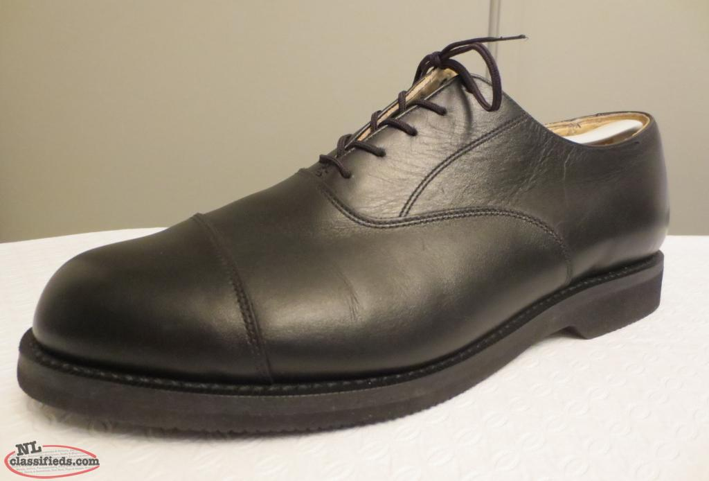 8d309b06be4257 Canada West Black Cap-Toe Oxford 11F - Made in Canada! - Mount Pearl ...