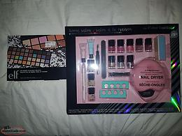50 color eye& face palette home salon 21 piecesnial kit