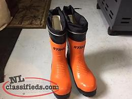 New Stihl Chain saw boots size 10