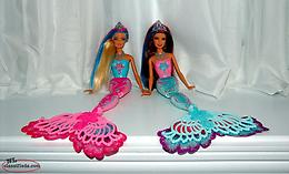 Color Magic Mermaid Barbies