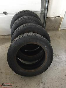 4. 205/60/16 Saxon Winter Tires Studded