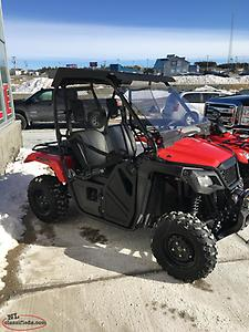 Just Traded! 2018 Honda Pioneer 500 SXS Only 120kms!