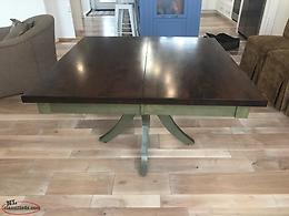 Canadel Handmade Solid Wood Dining Table