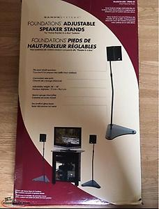 New Adjustable Speaker Stands