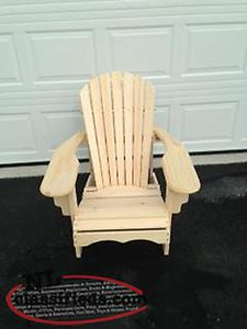 Custom made pine Lawn Chairs. $95.00