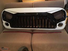 Jeep Wrangler Angry Grill