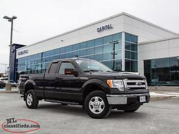 2013 Ford F-150 XLT Supercab 4WD-$220.50 B/W TAX IN