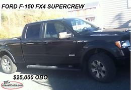 2014 Ford F150 SuperCrew Cab FX4 Pickup 4D 6 1/2 ft PRICE DROP!!