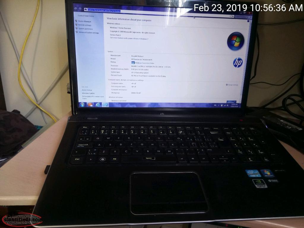 factory reset hp pavilion dv7 laptop