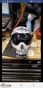 snap on welding mask ( fixed shade #10)