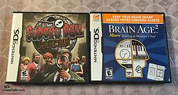 Nintendo DS Games (Sudoku Ball Detective / Brain Age 2)