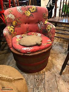 old outport barrell chair