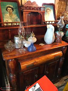 antique winter sideboard---reduced by$ 200