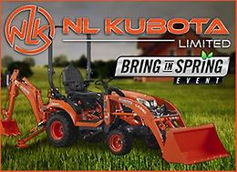 SPRING to POWER with NL Kubota